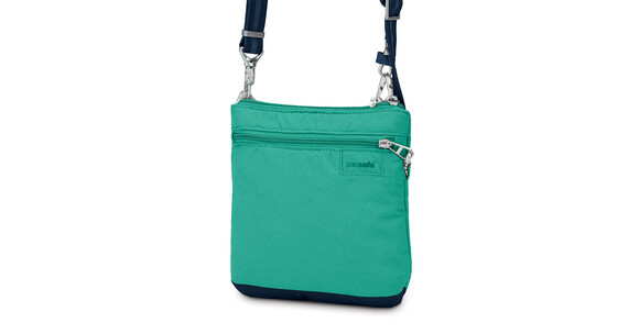 Pacsafe Citysafe LS50 Cross Body Purse Women lagoon